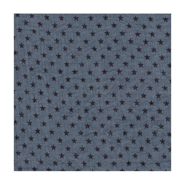 tissu-france-duval-stalla-crepon-orageux-etoiles-noires